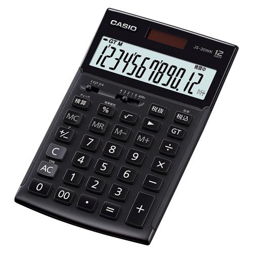 カシオ 本格実務電卓JS-20WK-MBK-N JS-20WK-MBK-N【4549526700422】