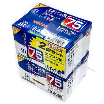リサイクルインクエプソン対応(2個入) JIT-AE754P2P【4530966720774】