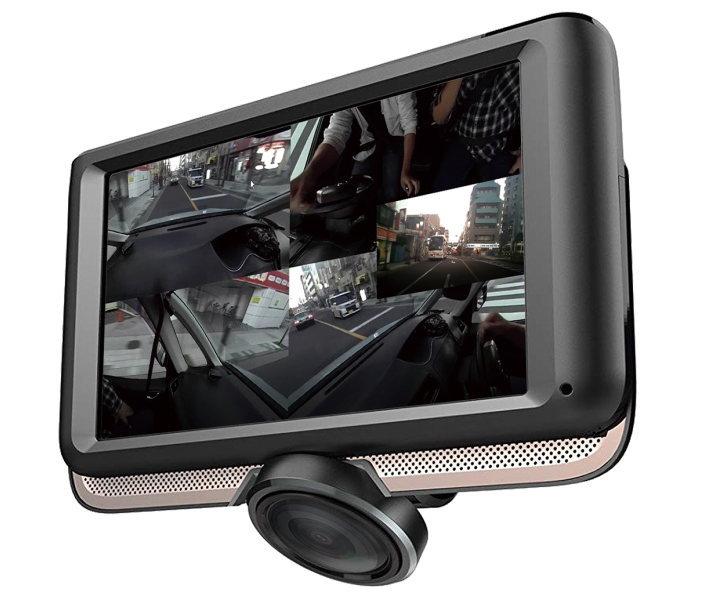AKART 前後カメラ ドライブレコーダー 360度 録画 DL-360DR あおり運転対策