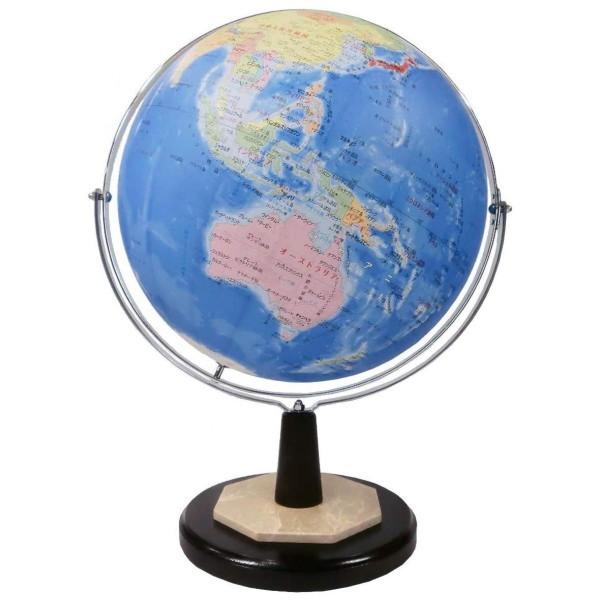 昭和カートン SHOWAGLOBES インテリア地球儀 日本製 43cm 43-GRW 高級インテリアとしても【メーカー直送品】