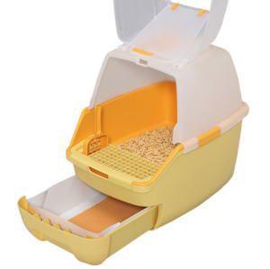 爱丽思猫厕所设有 RCT 530F 罩 (橙色)
