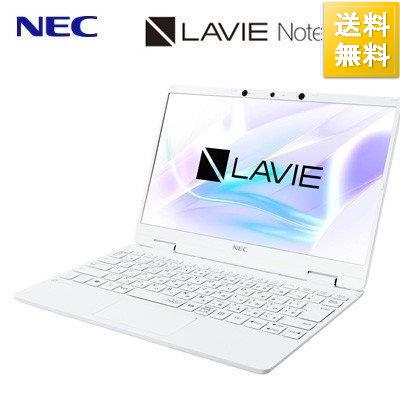 NEC ノートパソコン 12.5型 LAVIE Note Mobile NM750RA 2020秋冬新作 PC-NM750RAW 2020年春モデル Core メイルオーダー メモリ8GB i7 SSD512GB パールホワイト intel