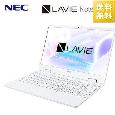 NEC ノートパソコン 12.5型 LAVIE Note Mobile NM150RAW intel 2020年春モデル メモリ4GB SSD256GB 安売り Celeron おすすめ特集 パールホワイト PC-NM150RAW