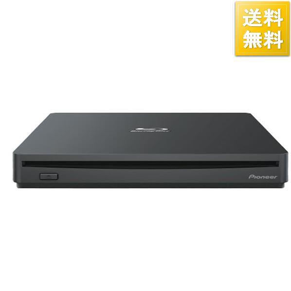 PIONEER PC用ドライブ ポータブルモデル(Ultra HD Blu-ray対応) ブラック BDR-XS07B-UHD [BDRXS07BUHD]