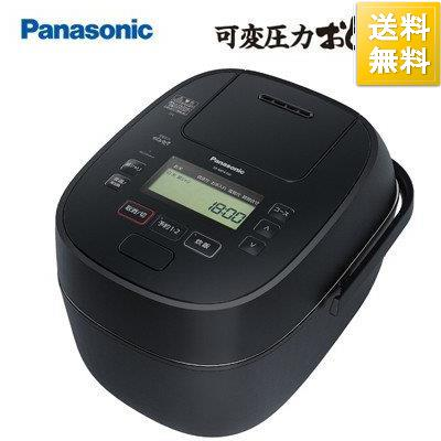 パナソニック 5.5合炊き 返品送料無料 可変圧力IHジャー炊飯器 可変圧力おどり炊き ブラック SR-MPA100-K セール商品