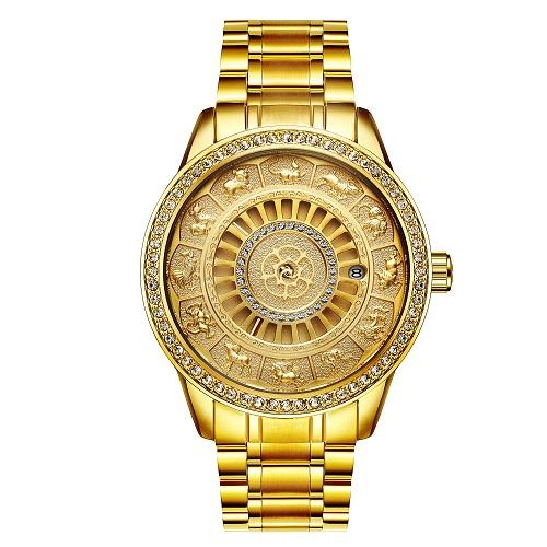 【送料無料】高級十二支腕時計 プレゼント ギフト ゴールド 干支 十二支 おしゃれ 高級感 通販
