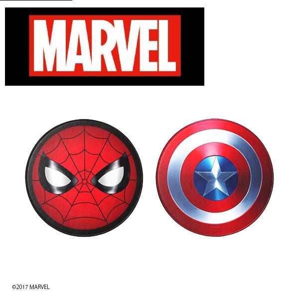 マーベルキャラクター マウスパッド MARVEL スパイダーマン キャプテン アメリカ シールド 光学式 レーザー式 SALE開催中 キャプテンアメリカ おしゃれ マーベル 雑貨 毎週更新 プレゼント キャラクター ブルーLED式対応 かっこいい
