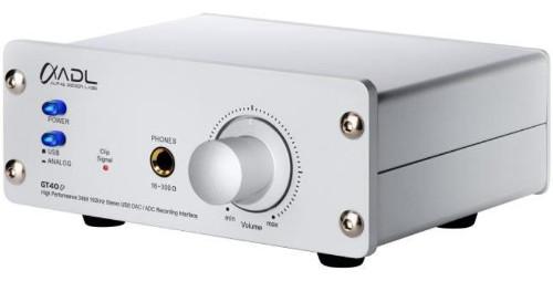 FURUTECH フォノイコライザー搭載(MM/MC対応)USB DAC ADL GT40α(Alpha) 新品