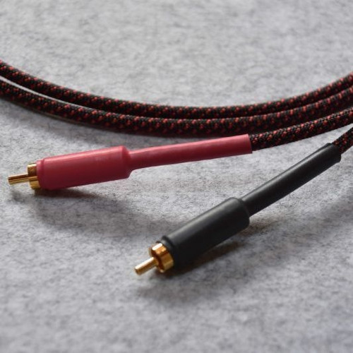 Black Cat ブラックキャット LUPINO RCA Cable (1.0mペア) 新品