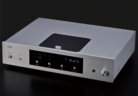 【在庫あり】CEC シーイーシー USB入力付きCDプレーヤー CD5 (シルバー) 新品