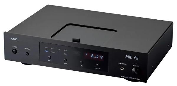 CEC シーイーシー USB入力付きCDプレーヤー CD5 (ブラック) 新品