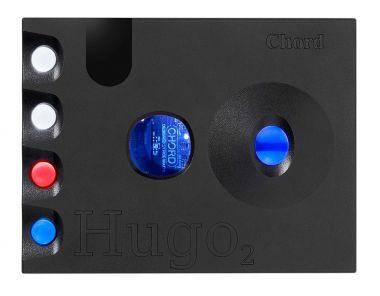 CHORD コード DAC搭載ヘッドホンアンプ Hugo2 (ブラック) 新品