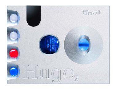 CHORD コード DAC搭載ヘッドホンアンプ Hugo2 (シルバー) 新品
