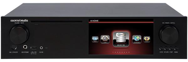 cocktail Audio カクテルオーディオ アンプ内蔵オールインワンマルチメディアプレーヤー X35 (ブラック) 新品