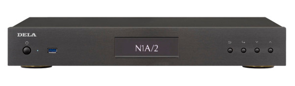 DELA ハイレゾ対応デジタルミュージックライブラリ HA-N1AH20/2 (HDD 2TB×1 ブラック) 新品