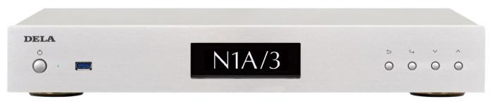 【在庫あり:平日13時までのご注文であす楽対応】DELA デラ ミュージックライブラリー N1A/3-S20-J (シルバー) SSD 2TB 新品