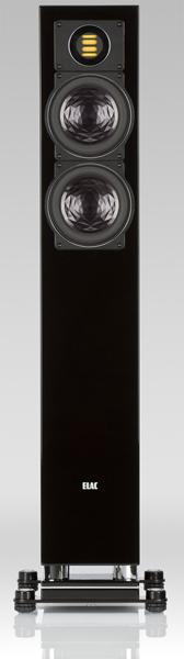 ELAC エラック スピーカー FS407 (ハイグロスブラック) ペア 新品