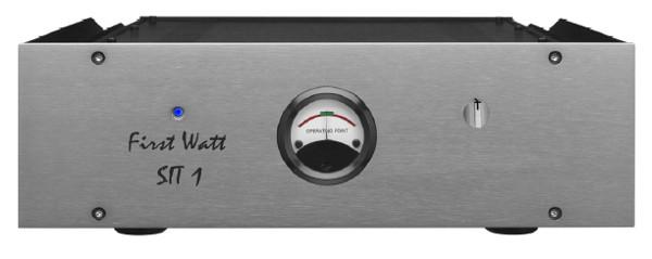 FirstWatt ファーストワット モノラルパワーアンプ SIT-1 (シルバー) ペア 新品