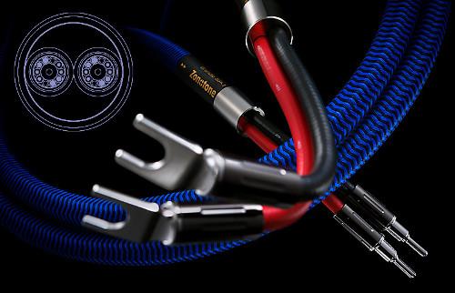 Zonotone ゾノトーン スピーカーケーブル Grandio SP-1 標準完成品(アンプ側:Yラグ、スピーカー側:バナナプラグ 2.0mペア/シングル仕様) 新品