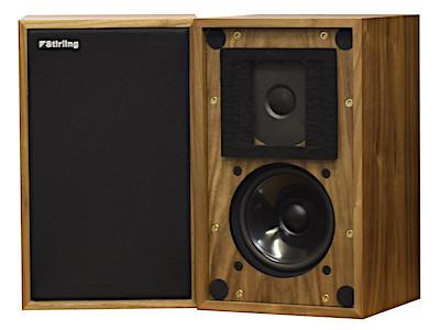 Stirling Broadcast スターリングブロードキャスト BBCモニタースピーカー LS3/5a V2 (ウォールナット) ペア 新品