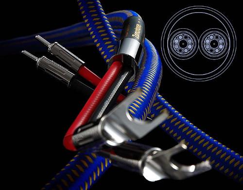 Zonotone ゾノトーン スピーカーケーブル Royal Spirit SP-1 標準完成品(アンプ側:Yラグ、スピーカー側:バナナプラグ 2.0mペア/シングル仕様) 新品