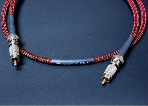 Black Cat ブラックキャット Silverstar! 75 MKII SPDIF Digital Cable (1.5m) 新品