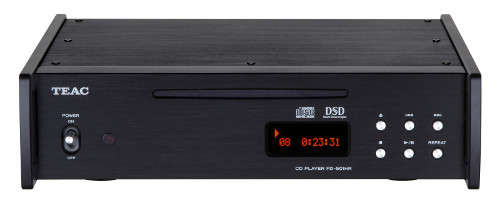 TEAC ティアック 5.6MHzDSDディスクネイティブ再生対応CDプレーヤー PD-501HR-SE (ブラック) 新品