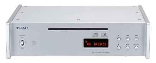 TEAC ティアック 5.6MHzDSDディスクネイティブ再生対応CDプレーヤー PD-501HR-SE (シルバー) 新品