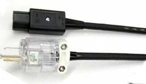 イチオシ TIGLON ティグロン 電源ケーブル (スタンダード) MS-12A (1.8m) 新品