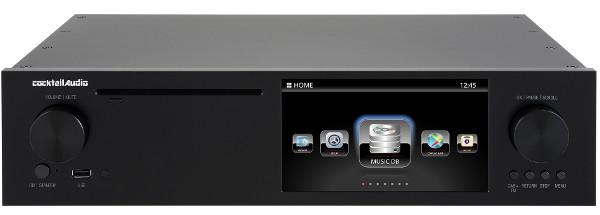 cocktail Audio カクテルオーディオ デジタルミュージックサーバー&トランスポート X50D (ブラック) 新品