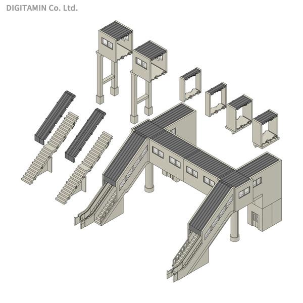 4073 TOMIX トミックス マルチ跨線橋エレベーター付セット ◆在庫限り◆ 受賞店 鉄道模型 Nゲージ