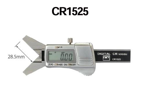 C面ノギス Rノギス デジタルCRノギス CR1525