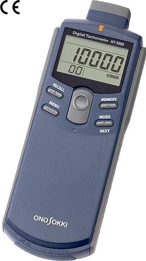 小野測器 デジタルハンディータコメーター回転計 HT-5500