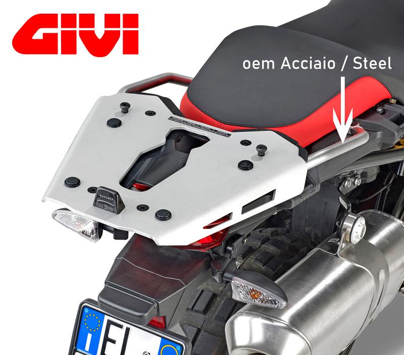 GIVI 【SRA5127】 リアラックフィッティング (BMW F750GS) (デイトナ 99484 同等品)