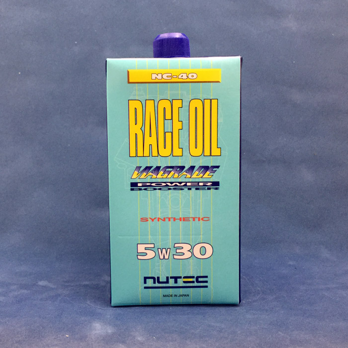 NUTEC 【ニューテック】 NC-40 RACE OIL 【5W-30】 【20L】【ペール缶】【4サイクルレーシングオイル】
