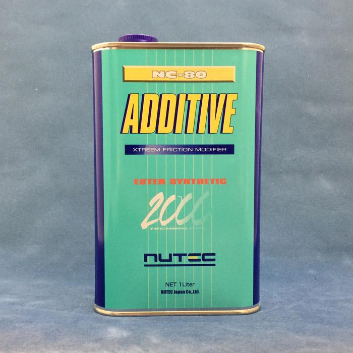 NUTEC 【ニューテック】 NC-80 ADDTIVE 【1L】【オイル添加剤】