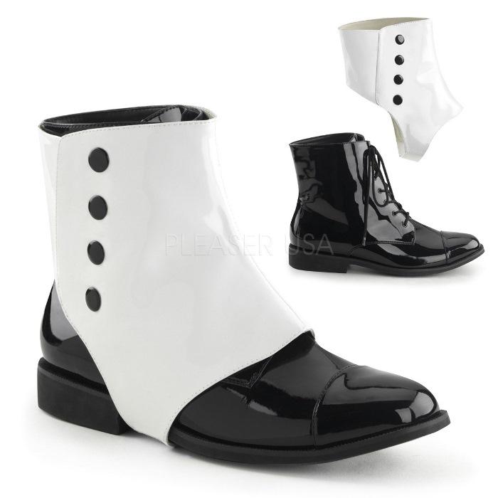 取寄せ靴 送料無料 PLEASER プリーザー ブーツ 2.5cmヒール 大きいサイズあり イベント セクシー サンタ 女装 パーティ- クリスマス コスプレ 衣装 シューズ