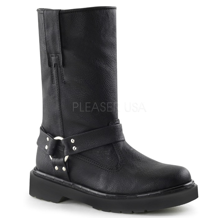 取寄せ靴 送料無料 ブーツ 3cmヒール 大きいサイズあり イベント 仮装 女装 男装 パーティ- LGBTファッション