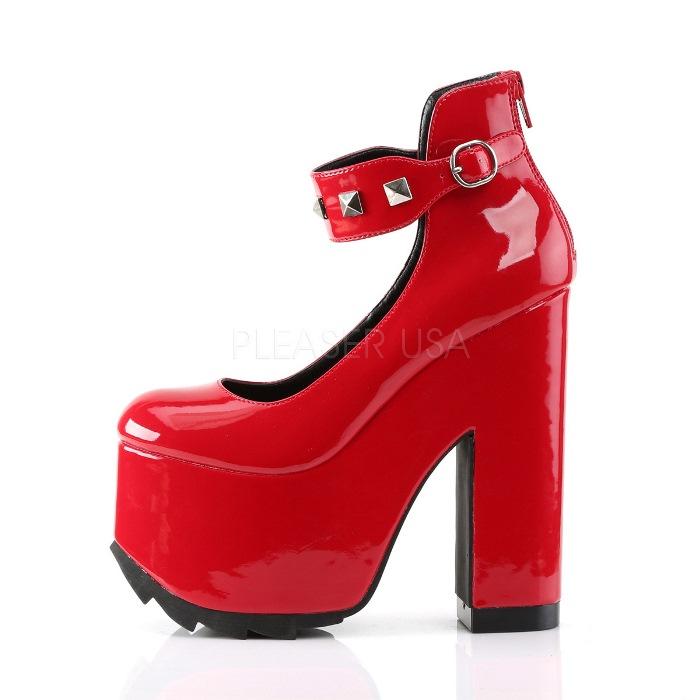 取寄 靴 送料無料 PLEASER プリーザー パンプス 16 5cmヒール 大きいサイズあり イベント セクシー サンタ 女装 パーティクリスマス コスプレ 衣装 シューズuT1JcFK3l