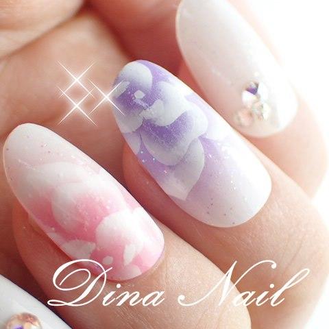 Dinanail Rakuten Global Market Air Rose Chic Nail Art Tip