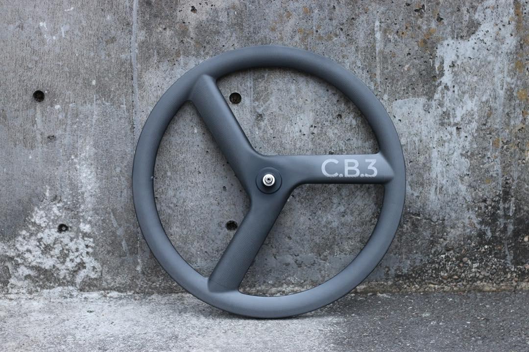 ピストバイク ホイール CARTELBIKES C.B.3 CARBON WHEEL C.B.3 REAR カーテルバイクス C.B.3 リア PISTBIKE