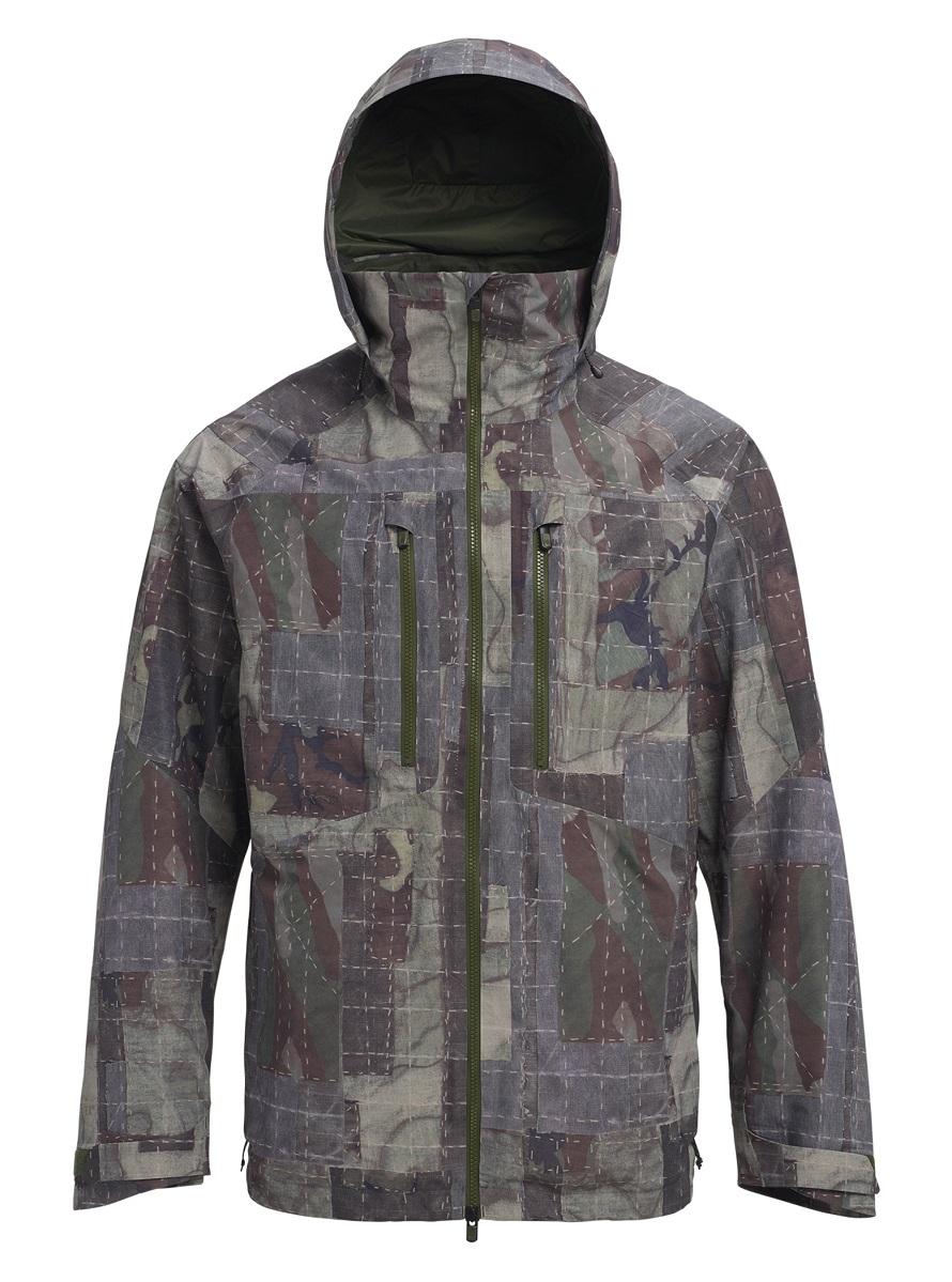 バートン 19モデル メンズ ウェア Burton [ak] GORE-TEX 2L Swash Jacket SALT STILL SHASHIKO スノーボード