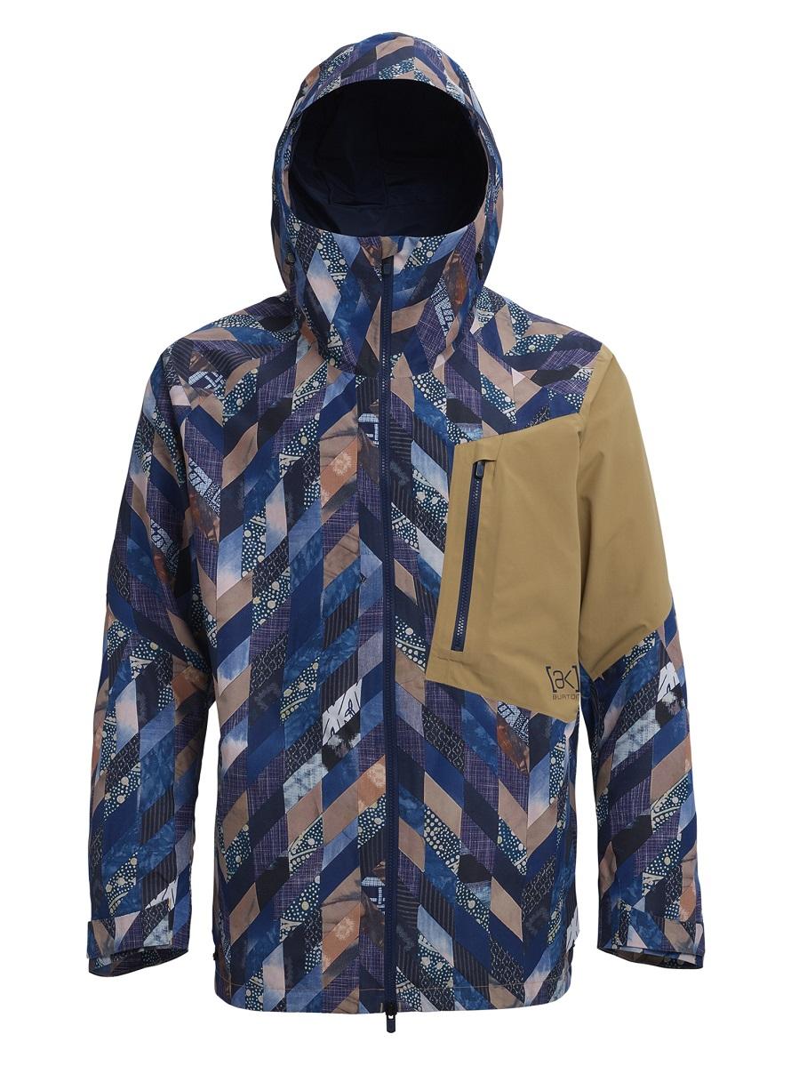 バートン 19モデル メンズ ウェア Burton [ak] GORE-TEX 2L Cyclic Jacket Robbins Quilt Front / Kelp スノーボード