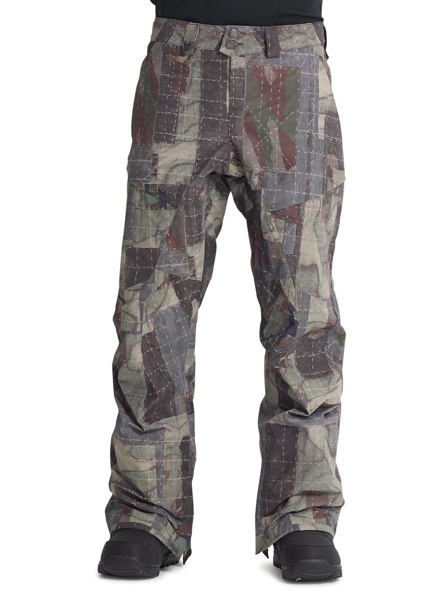 バートン 19モデル メンズ ウェア Burton [ak] GORE-TEX Swash Pant Salt Still Shashiko スノーボード