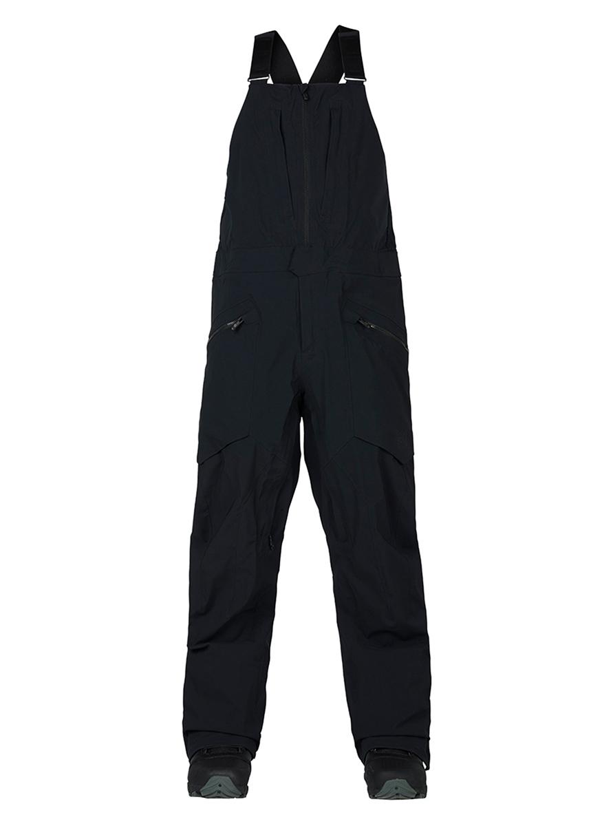 バートン 19モデル メンズ ウェア Burton [ak] GORE-TEX 3L Freebird Bib Pant True Black スノ ーボード