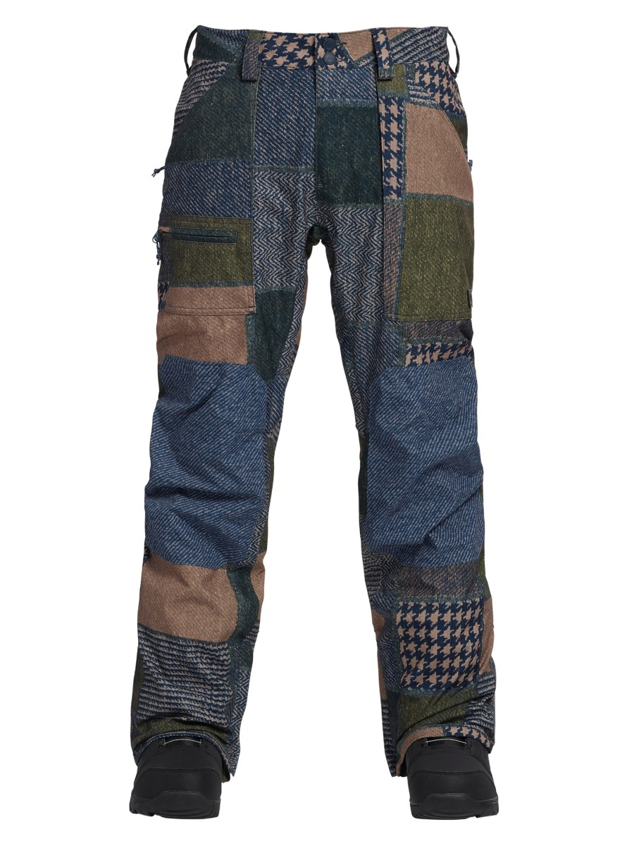 55%以上節約 バートン Patchwork Twill 2019モデル メンズ ウェア Burton Southside Pant-Regular Fit Patchwork Burton Yardage/ Mood Indigo Twill スノーボード, オーパーツ:731a2e20 --- supercanaltv.zonalivresh.dominiotemporario.com