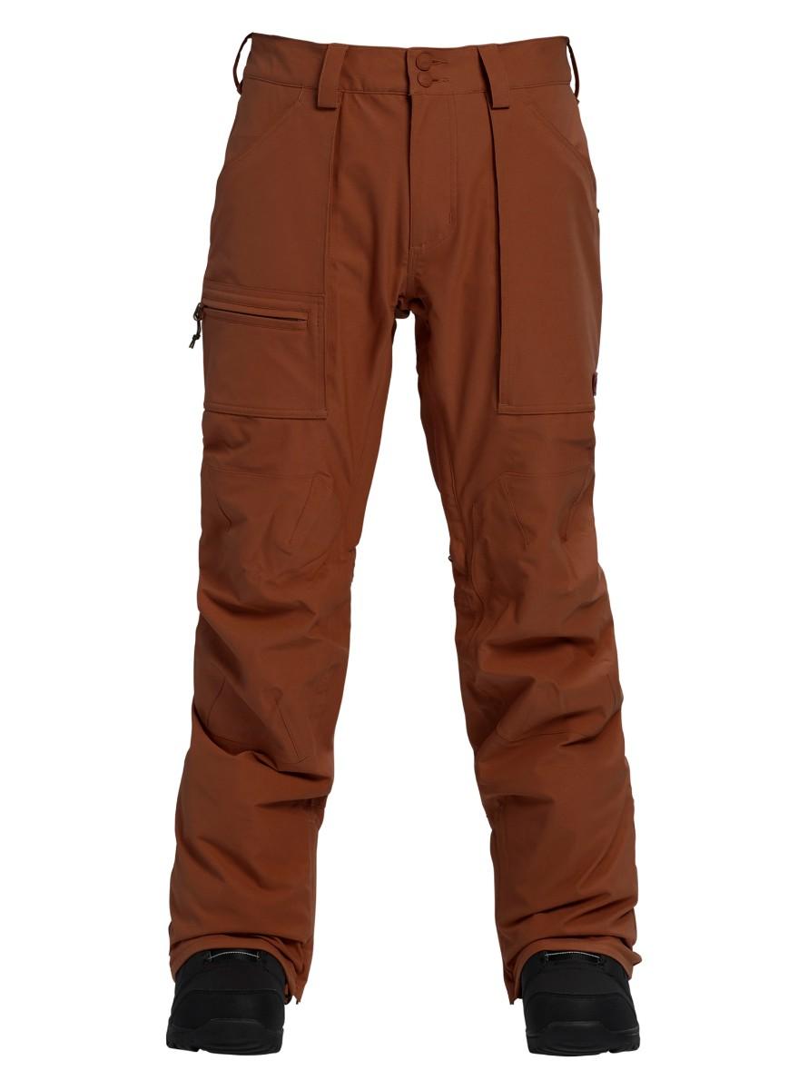 バートン 2019モデル メンズ ウェア Burton Southside Pant - Slim Fit Chestnut スノーボード