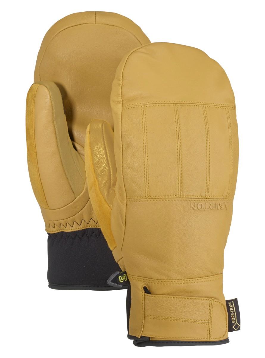 バートン 19モデル メンズ グローブ Burton Gondy GORE-TEX Leather Mitten Raw Hide ミトン スノーボード