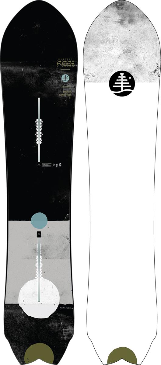 バートン 19モデル Burton Family Tree Mystery Fish Snowboard スノーボード パウダーボード ミステリーフィッシュ