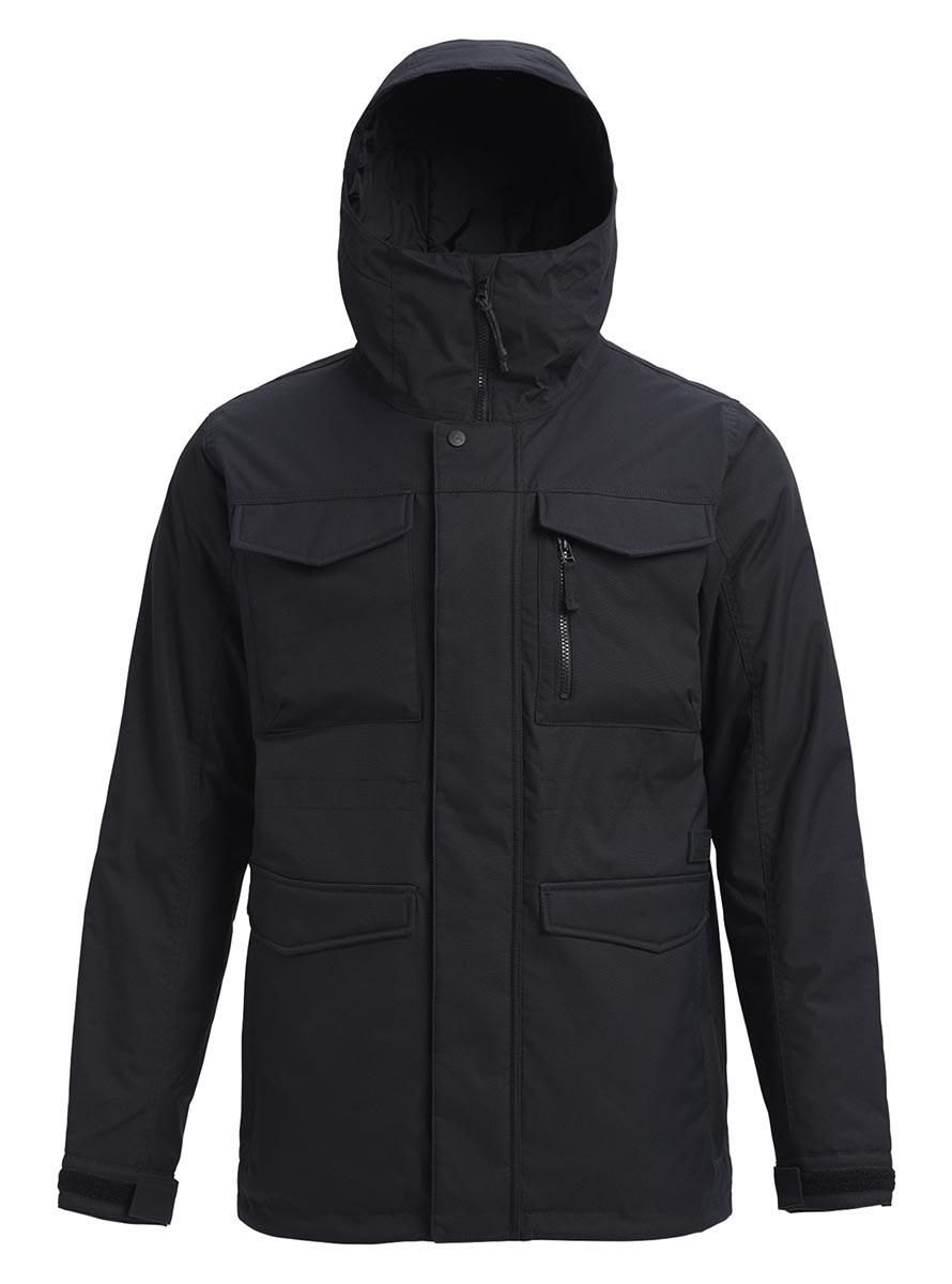 バートン 19モデル メンズ ウェア Burton Covert Jacket True Black スノーボード